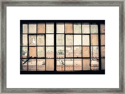 Broken Windows Framed Print by Yo Pedro