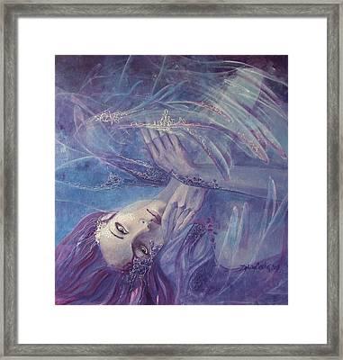 Broken Wings Framed Print by Dorina  Costras