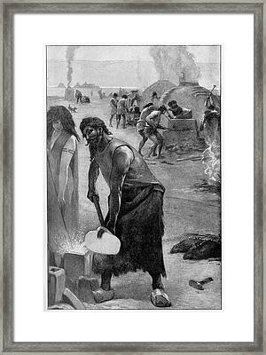 Bronze-age Metalworks Framed Print by Cci Archives