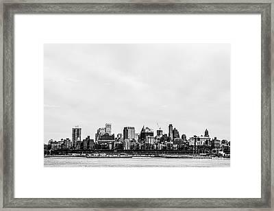 Brooklyn New York  Framed Print by Diane Diederich