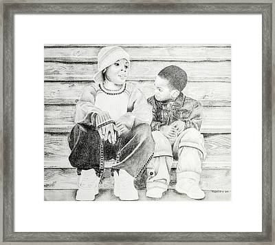 Brothers Framed Print by Timothy Gaddy