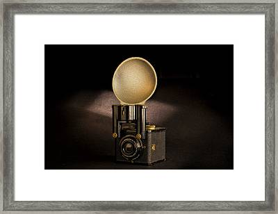 Brownie Flash Six-20 Circa 1946-1955 Framed Print by Peter Tellone
