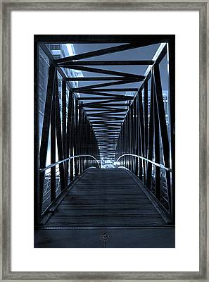 Brown's Island Bridge Framed Print by Brian Archer