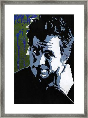 Bruce Banner Framed Print by Stephenie Lee