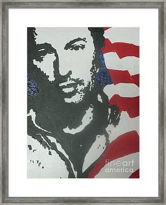Bruce Framed Print by Moira Ferguson