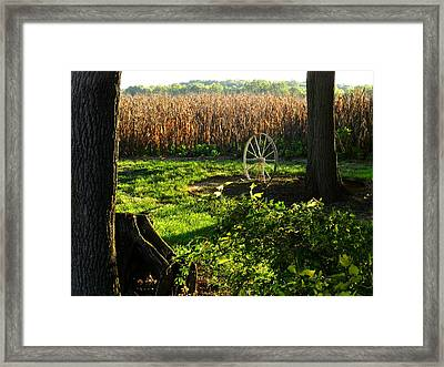 Bruce's Place Framed Print by Julie Dant