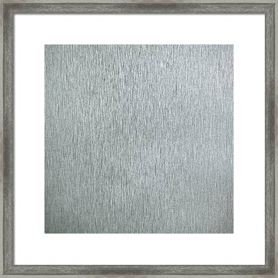 Brushed Metal Framed Print by Tom Gowanlock