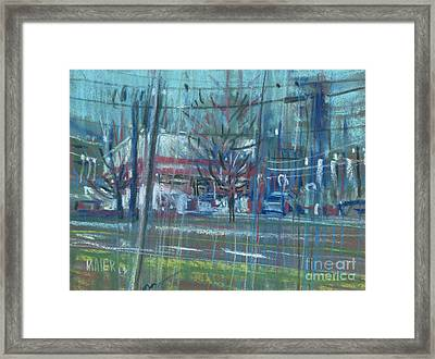 Bruster's Framed Print by Donald Maier