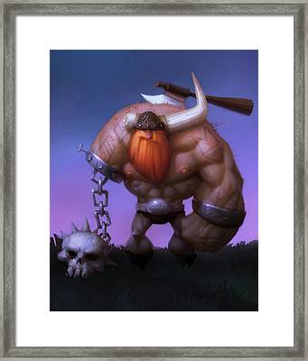Brutal Framed Print by Adam Ford
