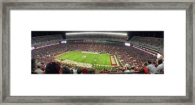 Bryant Denny Stadium Framed Print by Georgia Fowler