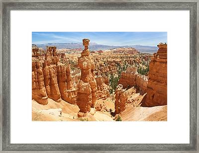 Bryce Canyon 3 Framed Print by Mike McGlothlen