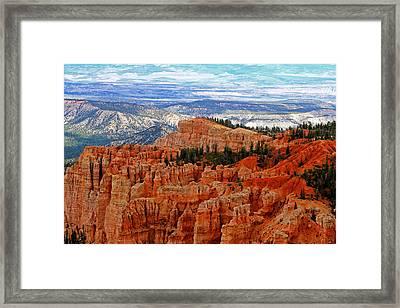 Bryce Canyon II Framed Print by Tom Prendergast