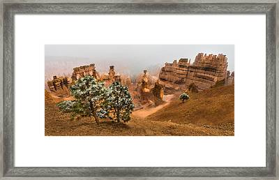 Bryce Canyon National Park Framed Print by Larry Marshall