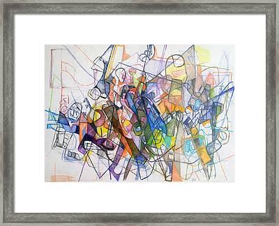 bSeter Elyon 23 Framed Print by David Baruch Wolk