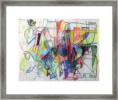 Bseter Elyon 59 Framed Print by David Baruch Wolk