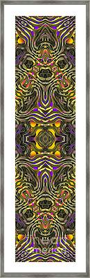 Abstract Rhythm - 35 Framed Print by Hanza Turgul