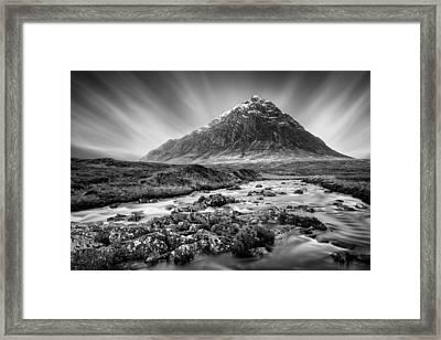 Buachaille Etive Mor 3 Framed Print by Dave Bowman