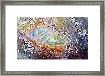 Bubble Boat Framed Print by Kathleen Pio