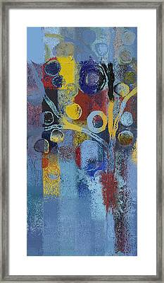 Bubble Tree - 7376106l Framed Print by Variance Collections