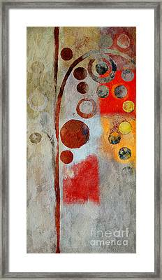 Bubble Tree - Ls55 Framed Print by Variance Collections