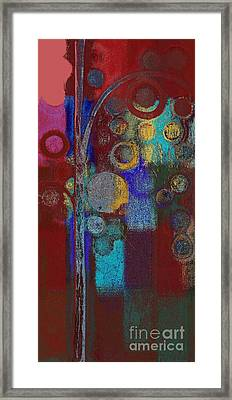 Bubble Tree - Rd01r Framed Print by Variance Collections