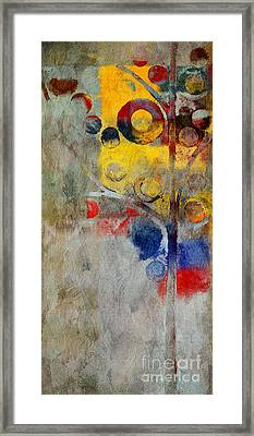 Bubble Tree - Rs55 Framed Print by Variance Collections