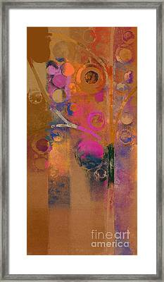Bubble Tree - Rw91 Framed Print by Variance Collections