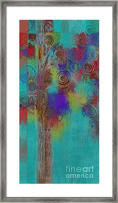 Bubble Tree - Sped09r Framed Print by Variance Collections