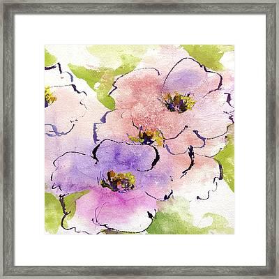Bubblegum Poppy Framed Print by Chris Paschke