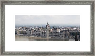 Budapest Framed Print by Gary Grayson
