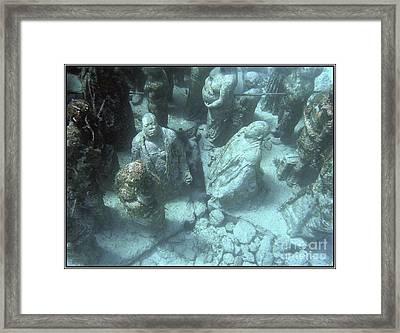 Budas Framed Print by Agus Aldalur