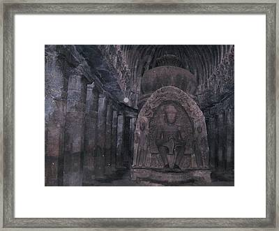 Buddha I Framed Print by Russell Smidt