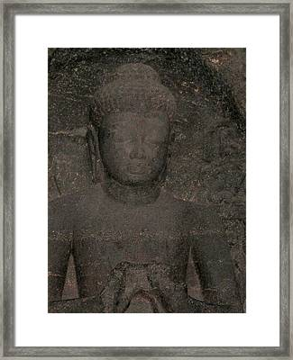 Buddha II Framed Print by Russell Smidt
