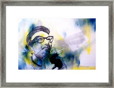 Buddy Framed Print by Joshua Sooter