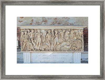Buffalmacco Buonamico, Sarcophagus Framed Print by Everett