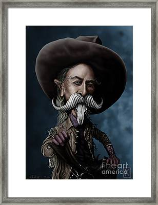 Buffalo Bill Framed Print by Andre Koekemoer