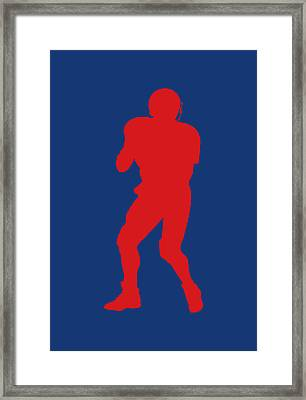 Buffalo Bills Jim Kelly Framed Print by Joe Hamilton