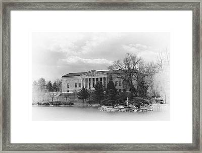Buffalo History Museum 2 Framed Print by Peter Chilelli