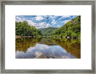 Buffalo National River Framed Print by Bill Tiepelman