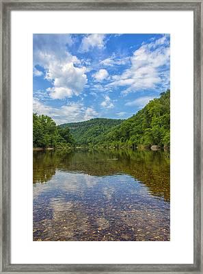 Buffalo River Majesty Framed Print by Bill Tiepelman