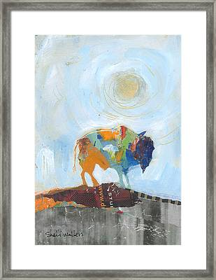 Buffalo Vi Framed Print by Shelli Walters