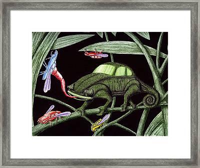 Bug The Bugs Killer Framed Print by Vitaliy Gonikman