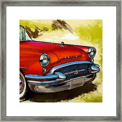 Buick Automobile Framed Print by Robert Smith
