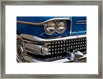 Buick Classic Framed Print by Frozen in Time Fine Art Photography
