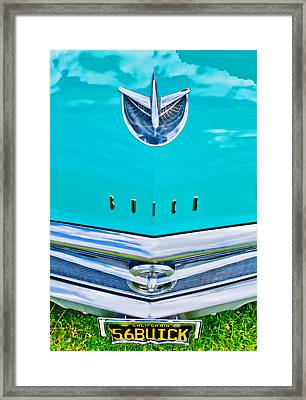 Buick Grill Framed Print by Phil 'motography' Clark