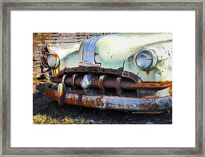 Buick Silver Streak 8 Grille Framed Print by Bill Cannon