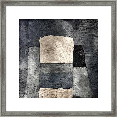 Building Blocks Framed Print by Carol Leigh