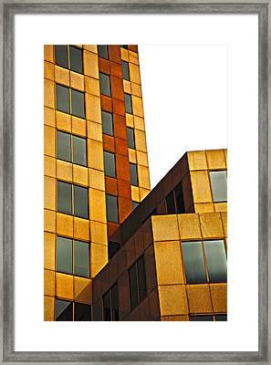 Building Blocks Framed Print by Karol Livote