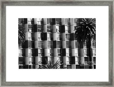Building Lines In Vina Del Mar Framed Print by John Rizzuto