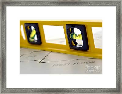 Building The Dream Home Framed Print by Olivier Le Queinec